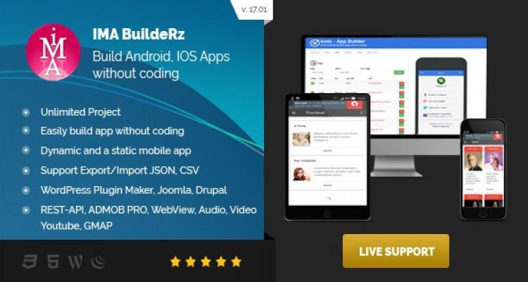 Ionic Mobile App Builder v17.07.1