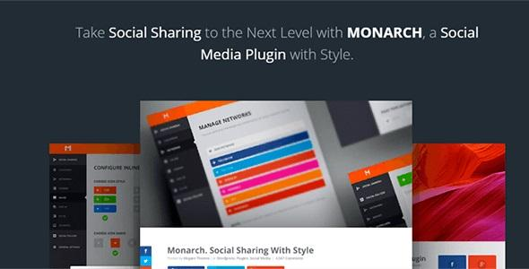 Monarch v1.4.8 - A Better Social Sharing WP Plugin
