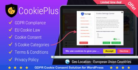 Cookie Plus v1.2.7 - GDPR Cookie Consent Solution