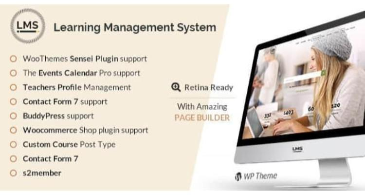 LMS V4.0 | LEARNING MANAGEMENT SYSTEM, EDUCATION LMS WORDPRESS THEME