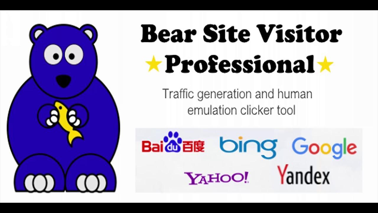 Bear Site Visitor Pro - Traffic generator tool