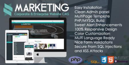 Marketing v1.0.1 - Corporate & Enterprise Website CMS