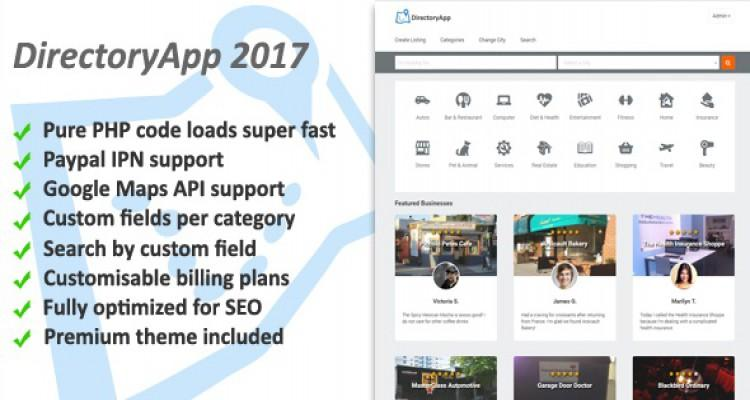 Directoryapp v1.08f - Business Directory