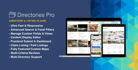 Directories Pro plugin for WordPress v1.2.3