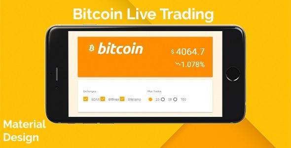 Bitcoin Live Trading