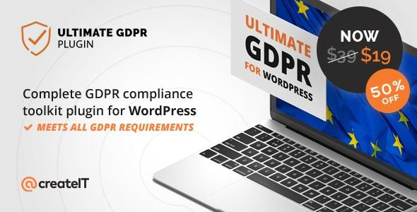 Ultimate GDPR v1.6.8 - Compliance Toolkit for WordPress