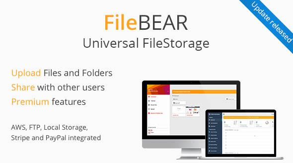 FileBear v1.7 - Premium File Sharing