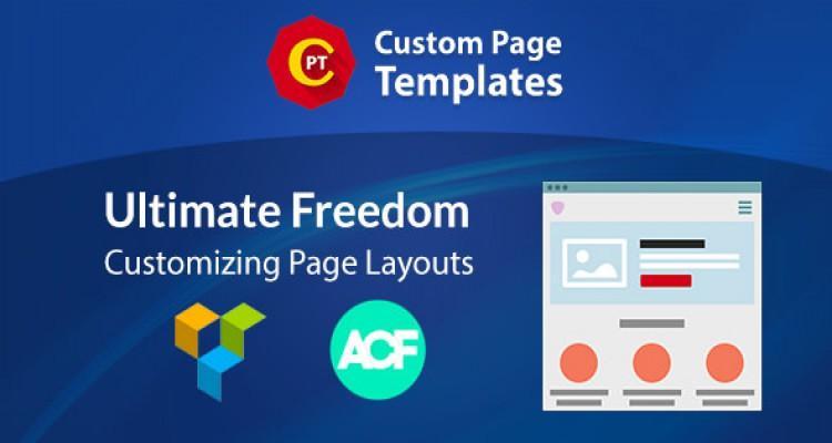 Custom Page Templates v3.0.5