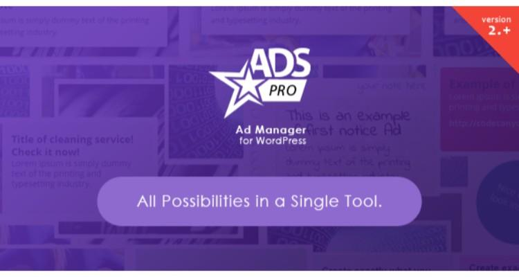 ADS PRO v3.3.0 Multi-Purpose WordPress Ad Manager