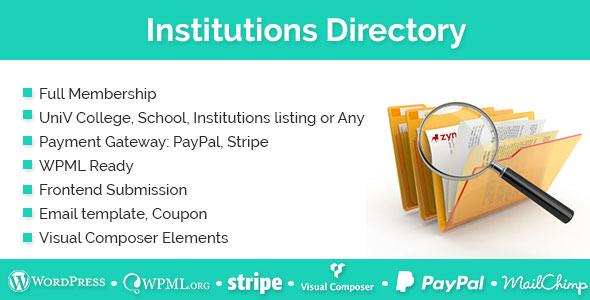 Institutions Directory v1.1.9