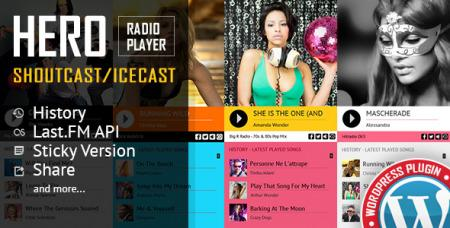 Hero v1.6.9.0 - Shoutcast and Icecast Radio Player