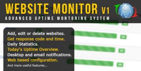 Advanced Website Uptime Monitor v1.4.4