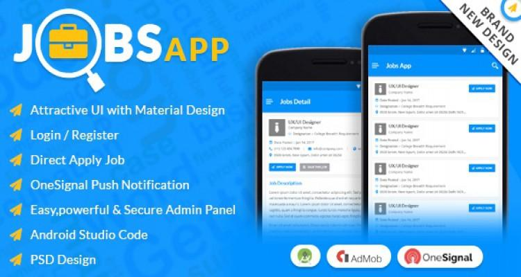 Jobs App - All Your Jobs in One Click