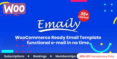 Emaily v1.0 - WooCommerce Responsive Email Template