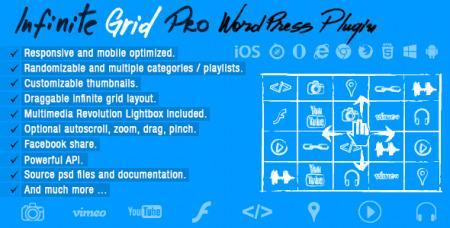 Infinite Grid Pro v1.0 - Wordpress Plugin