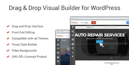MotoPress Content Editor v3.0.4 - Visual Builder for WordPress
