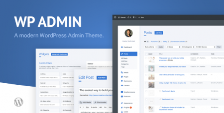 WP Admin Theme CD v1.6