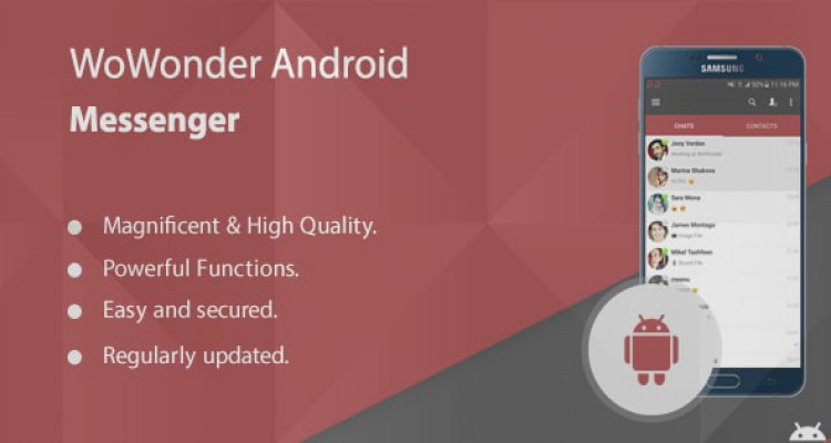 WoWonder Android Messenger - Mobile Application for WoWonder 1.3.0