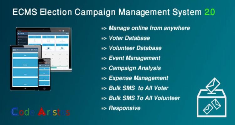 ECMS - Election Campaign Management System 2.0