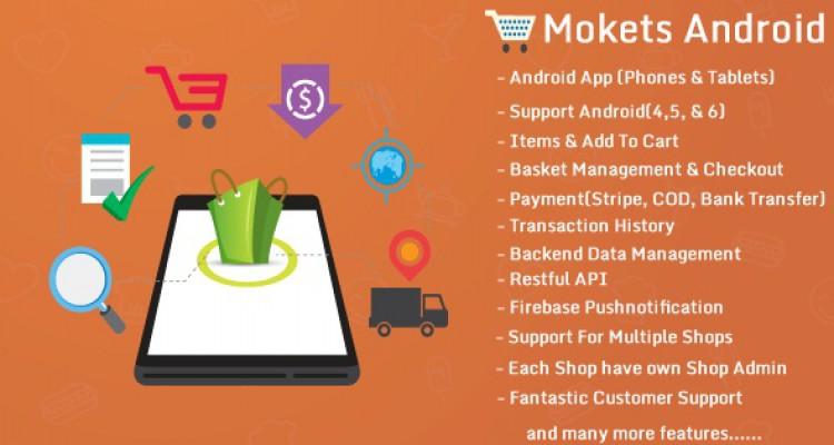 Mokets v1.0.5 (Mobile Commerce Android Full Application)
