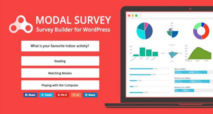 Modal Survey v1.9.9.1 - WordPress Poll, Survey & Quiz Plugin