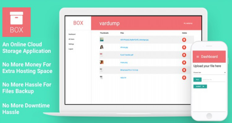 Box v1.2 - An Online Cloud Storage Application