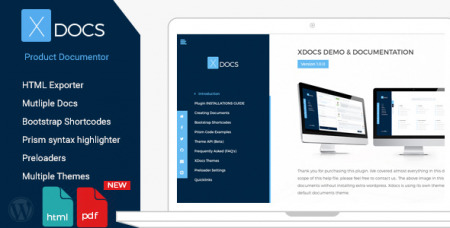 X Docs v1.0.7 - Wordpress Product Documentation Creator
