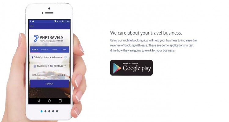 PhpTravels Native Android Mobile App