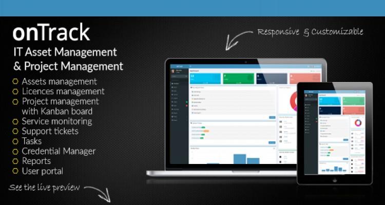onTrack v1.7 - IT Asset Management & Project Management
