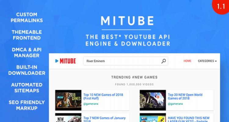 MiTube v1.2 - The YouTube Autopilot Engine You Deserve!
