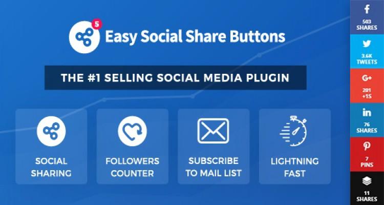 Easy Social Share Buttons for WordPress v5.5.2