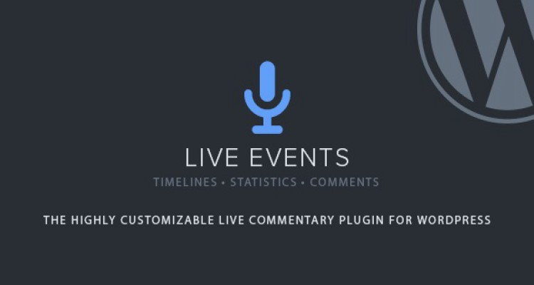 Live Events v1.2.0 - Premium Wordpress Plugin