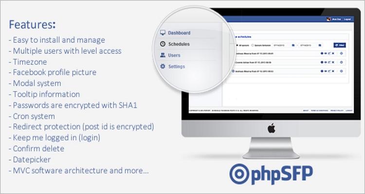 phpSFP v1.9.4 – Schedule facebook posts (Nulled)