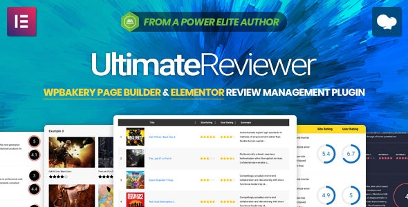 Ultimate Reviewer v2.2 - Elementor & WPBakery Page Builder Addon