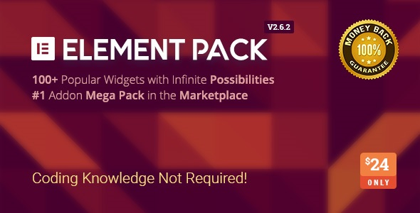 Element Pack v2.6.2 - Addon for Elementor Page Builder