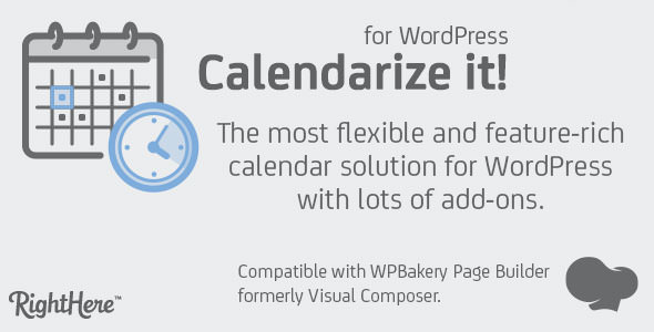 Calendarize it! for WordPress v4.8.1