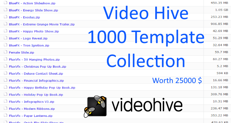 video-hive-1000-template-collection/