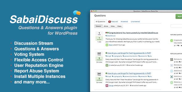 Sabai Discuss for WordPress v1.4.8