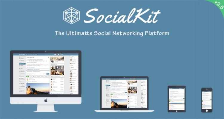 SocialKit v2.5.0.2 - The Ultimate Social Networking Platform