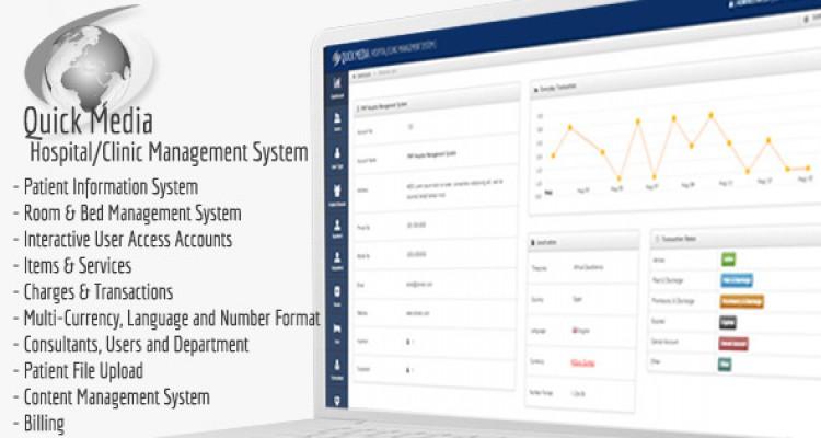 Quick Media - Hospital/Clinic Management System