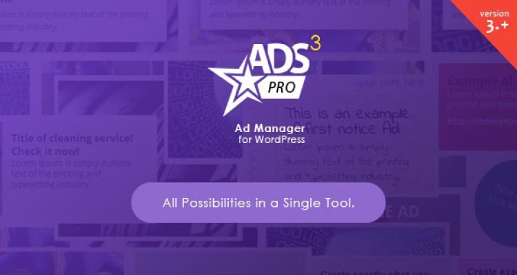 ADS PRO v3.4.2 - Multi-Purpose WordPress Ad Manager