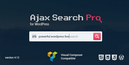 Ajax Search Pro for WordPress v4.15.1 - Live Search Plugin