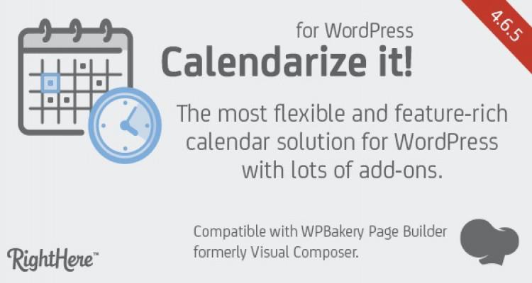 Calendarize it! for WordPress v4.6.5.83180