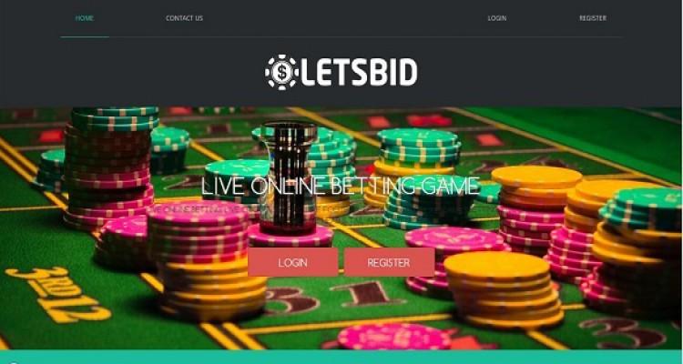 LetsBID - Live Betting Management System