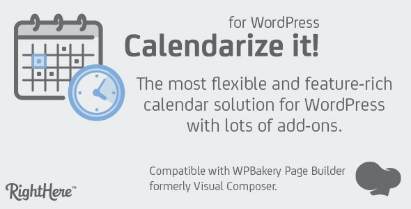 Calendarize it! for WordPress v4.7.3