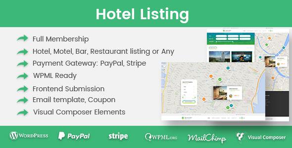 Hotel Listing v1.2.2