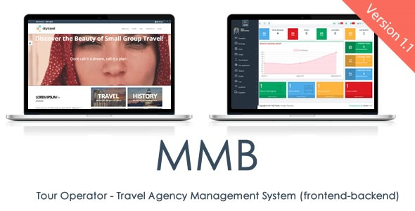 MMB Tour Operator v1.1 - Travel Agency Management System and CMS