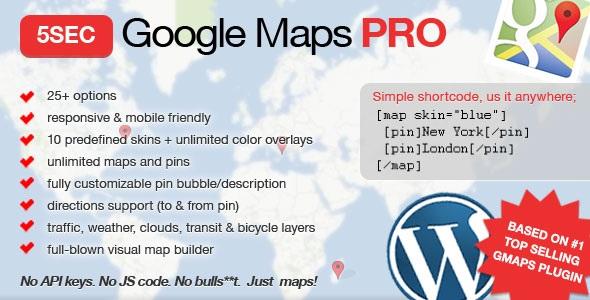 5sec Google Maps PRO v1.42