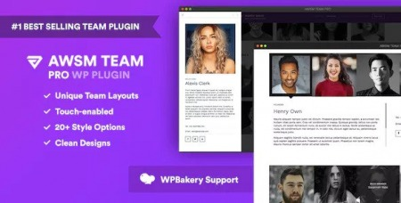 The Team Pro v1.6.1 - Team Showcase WordPress Plugin