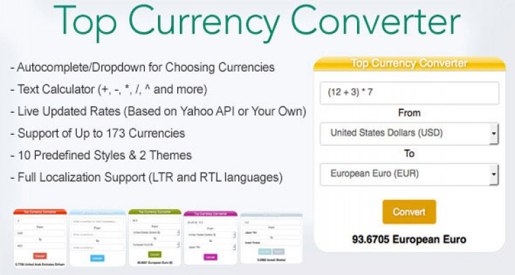 Top Currency Converter